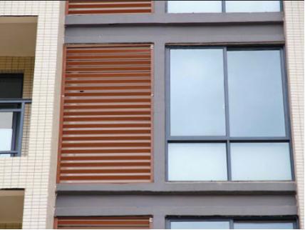 锌钢百叶窗图片